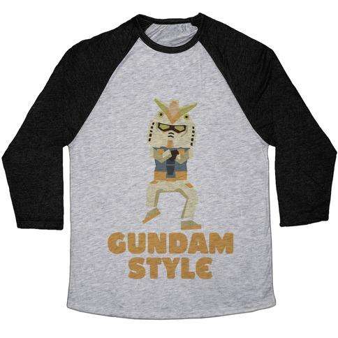 Gundam Style Baseball Tee