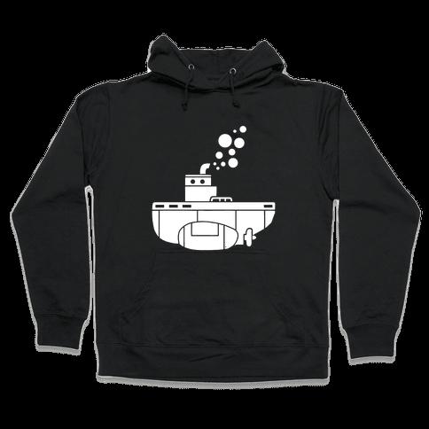 Nautical Submarine Hooded Sweatshirt