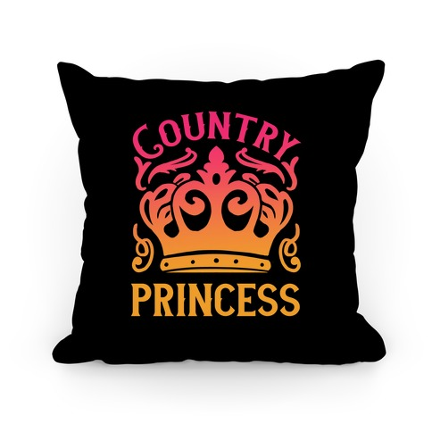 Country Princess Pillow