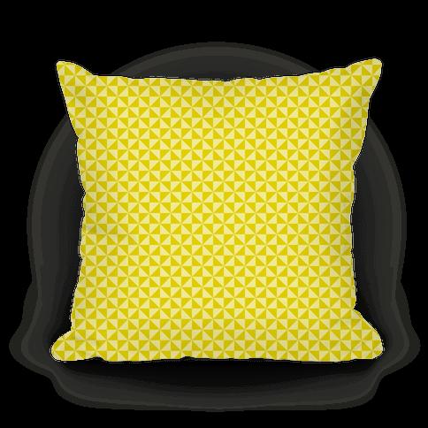 Yellow Pinwheel Pattern