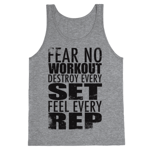 Fear No Workout Tank Top