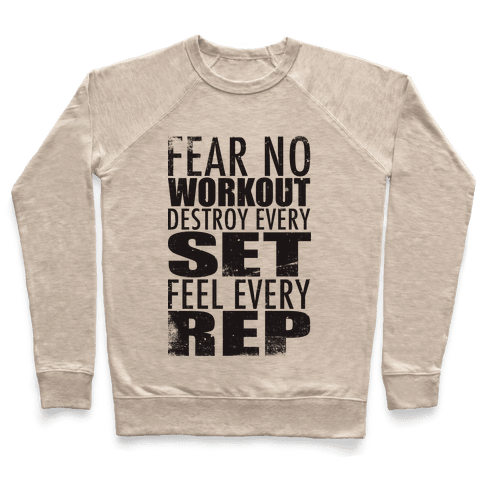 Fear No Workout Pullover