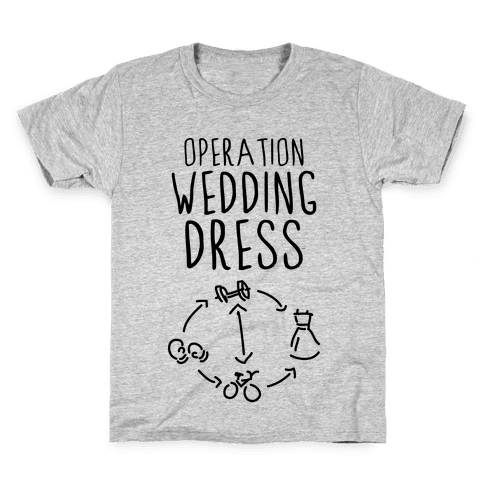 Operation Wedding Dress (Tank) Kids T-Shirt