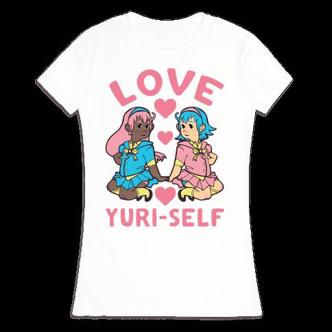 Love Yuri-Self Womens T-Shirt