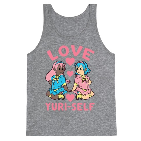 Love Yuri-Self Tank Top
