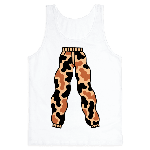 Camo Pants Tank Top