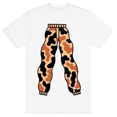 Camo Pants Mens T-Shirt