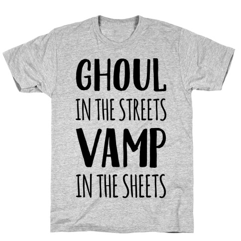 Ghoul In The Sheets Vamp In The Sheets T-Shirt