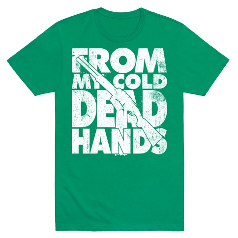 From My Cold Dead Hands (Camo) Mens T-Shirt