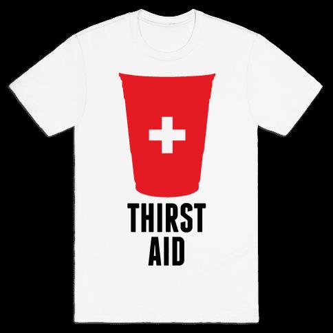 Thirst Aid Mens T-Shirt