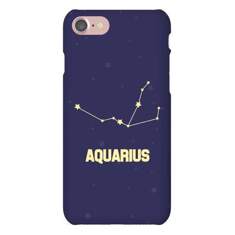 Aquarius Horoscope Sign Phone Case