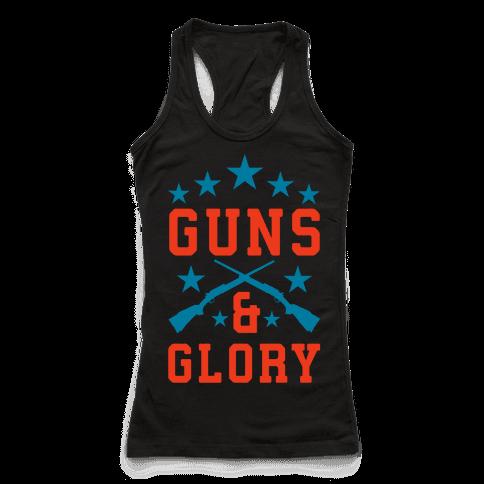Guns and Glory Racerback Tank Top