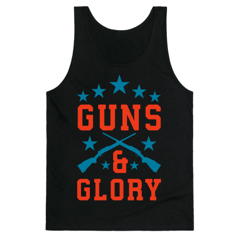 Guns and Glory Tank Top