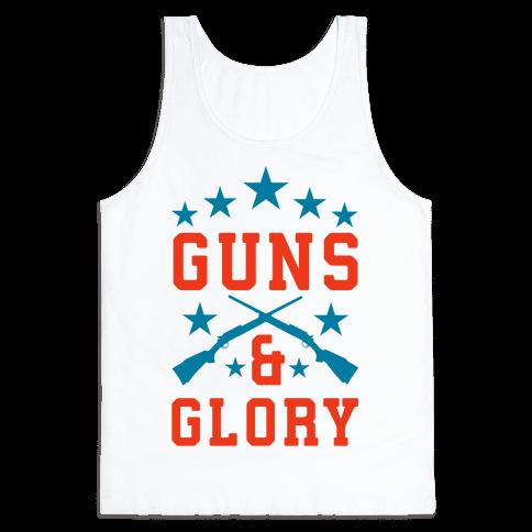 Guns and Glory Tank Top