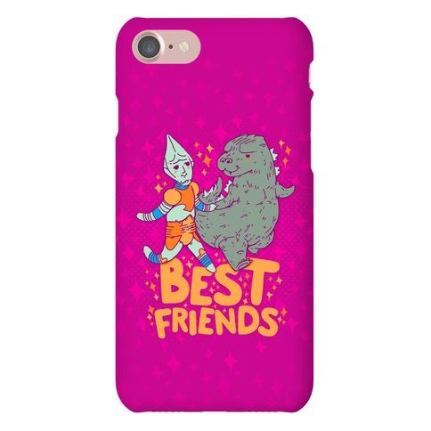 Best Friends Jet Jaguar & Godzilla Phone Case