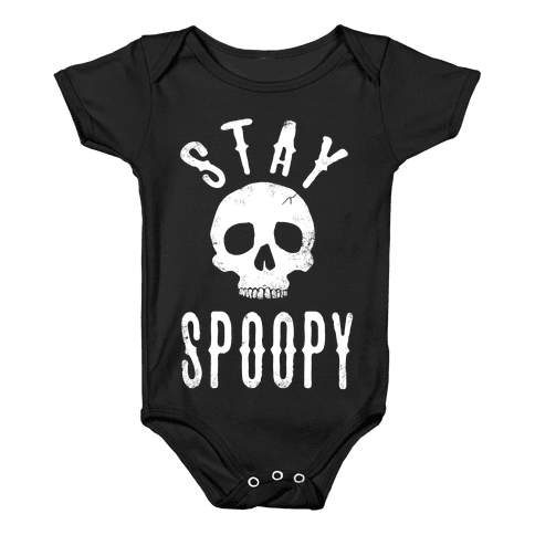 Stay Spoopy Baby Onesy