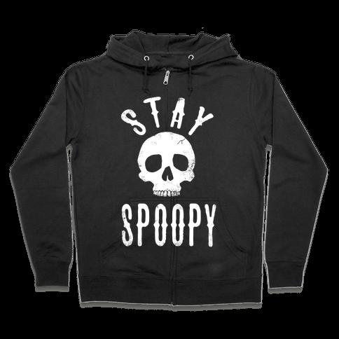 Stay Spoopy Zip Hoodie