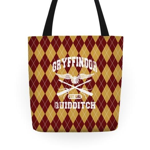 Gryffindor Quidditch Tote