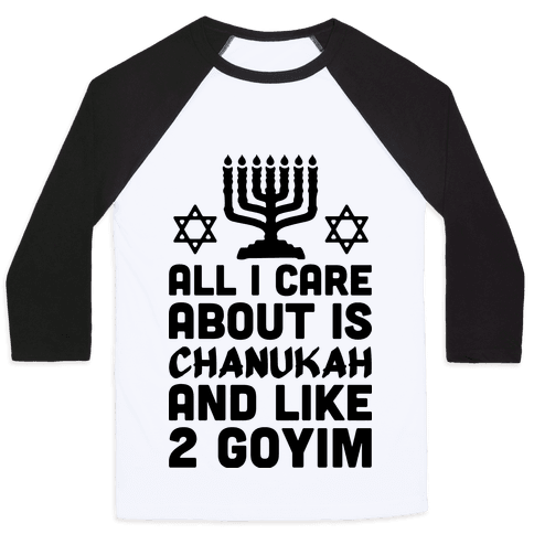 All I Care About is Chanukah