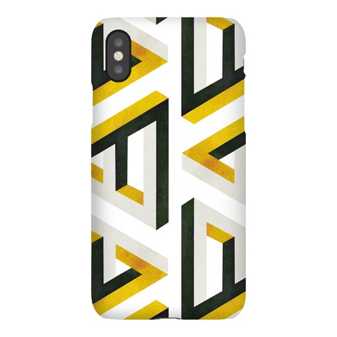 Triangle Optical Illusion Phone Case