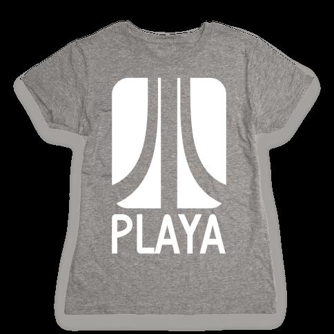 Old School Playa Womens T-Shirt