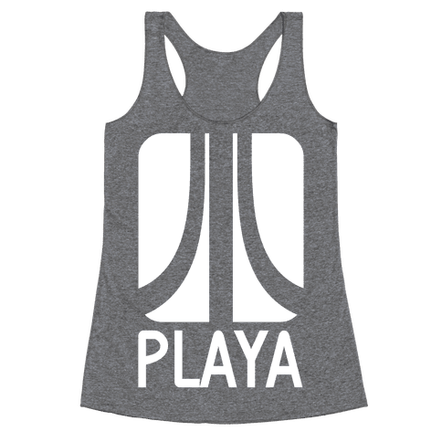 Old School Playa Racerback Tank Top