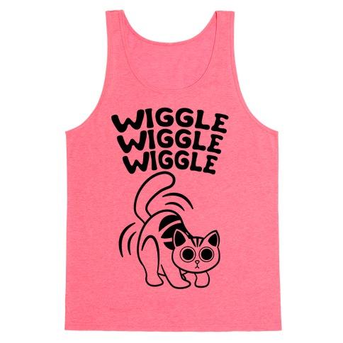 Wiggle Wiggle Wiggle (Black) Tank Top