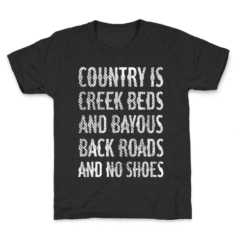 Country Is Kids T-Shirt