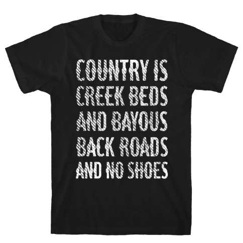 Country Is Mens T-Shirt