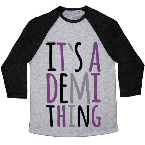 It's A Demi Thing Baseball Tee
