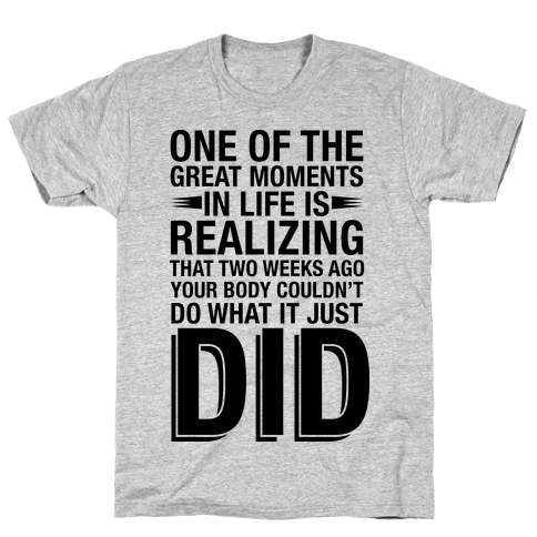 Realizing Great Moments Mens T-Shirt
