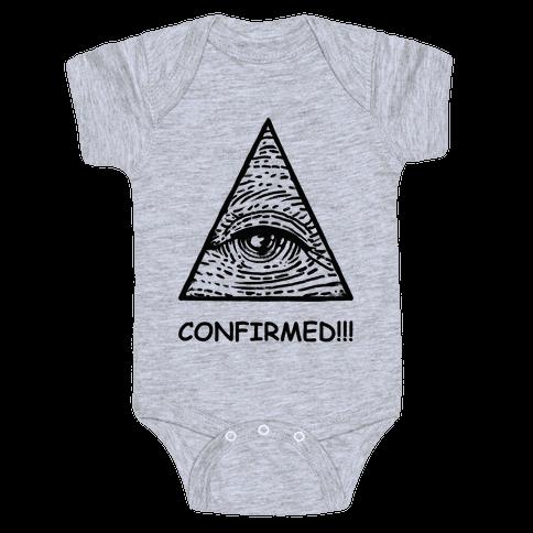 Illuminati CONFIRMED! Baby Onesy