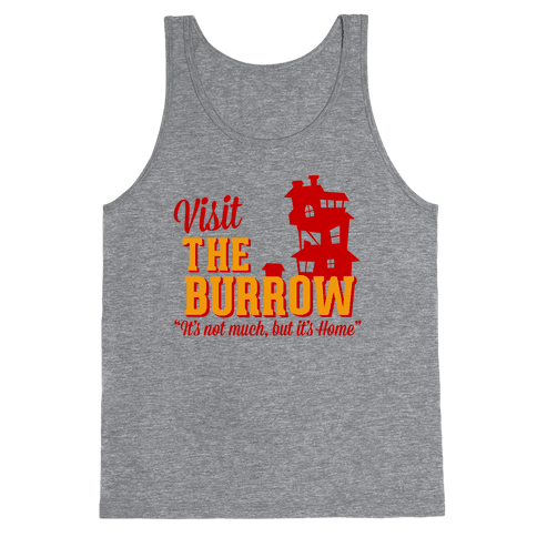 Visit The Burrow Tank Top