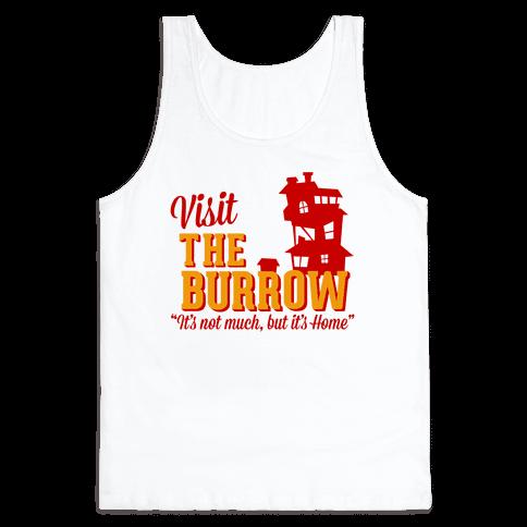 Visit The Burrow Tank Top