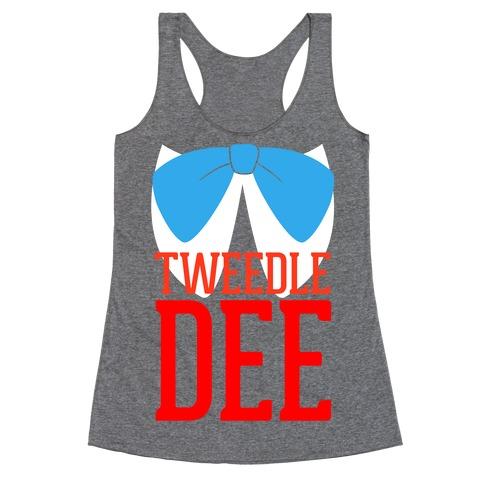 Tweedle Dee Racerback Tank Top