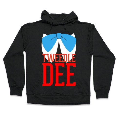 Tweedle Dee Hooded Sweatshirt