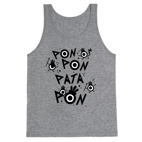 Pon Pon Pata Pon Tank Top