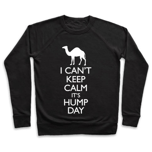 I Can't Keep Calm It's Hump Day Pullover