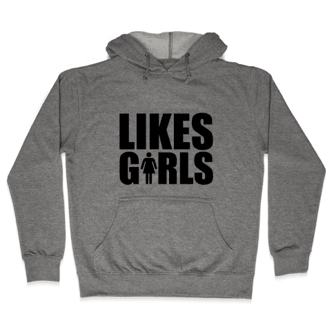 Likes Girls Hooded Sweatshirt