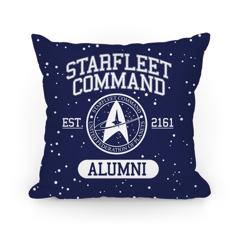 Star Fleet Alumni Pillow