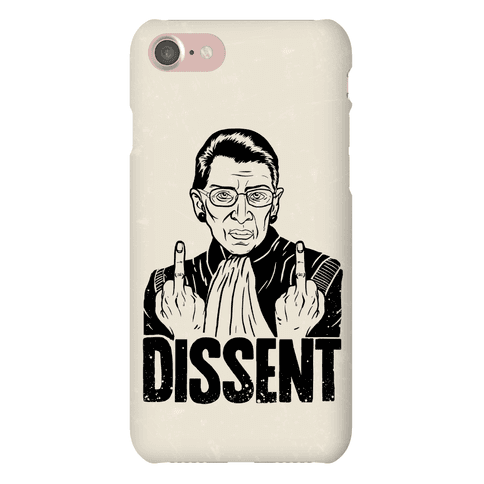 Ruth Bader Ginsburg Dissent Phone Case