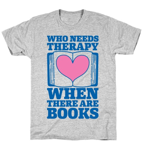 Book Therapy T-Shirt