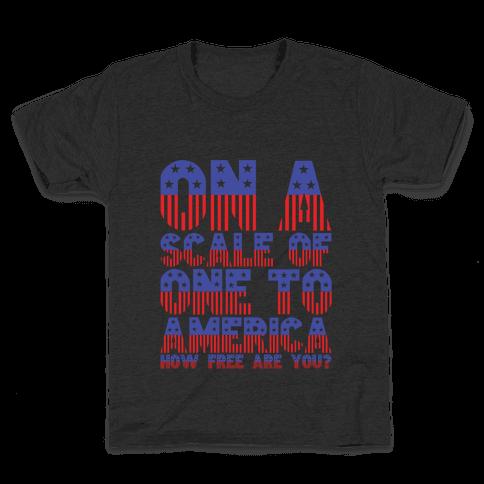 AMERICA! Kids T-Shirt
