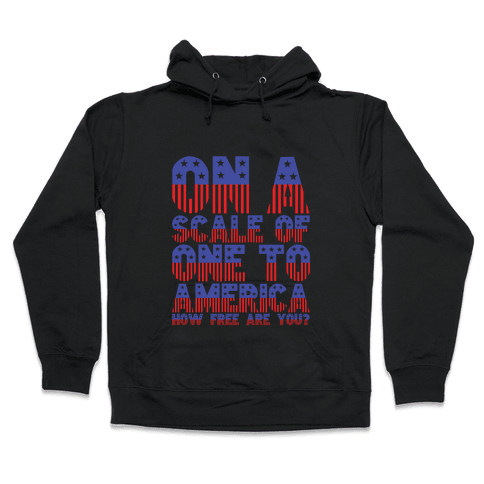 AMERICA! Hooded Sweatshirt