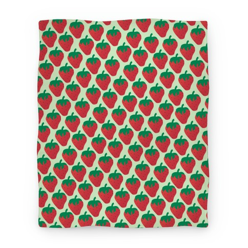 Strawberry Pattern Blanket