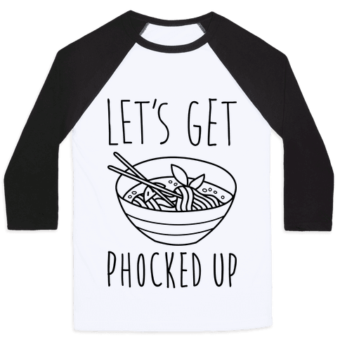 Let's Get Phocked Up Baseball Tee
