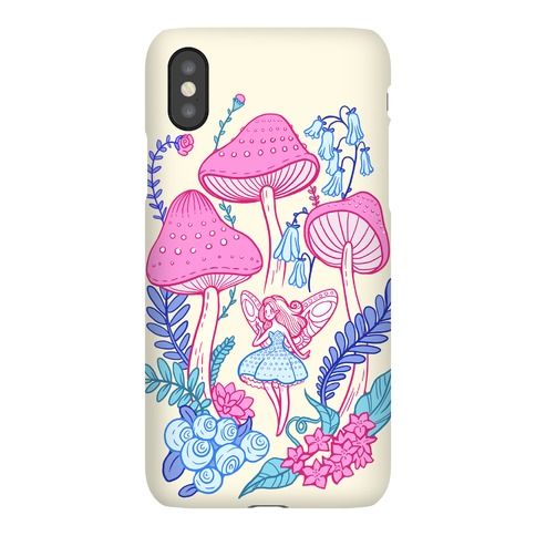Pastel Fairy Garden Phone Case