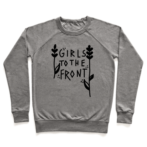 Girls To The Front Black Pullover