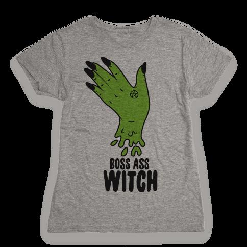 Boss Ass Witch Womens T-Shirt