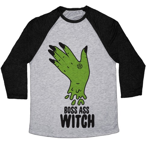 Boss Ass Witch Baseball Tee